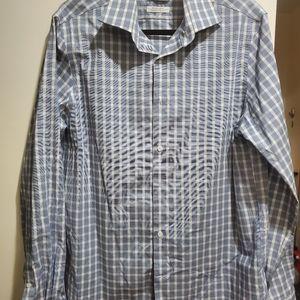 Michael Kors dress shirt check